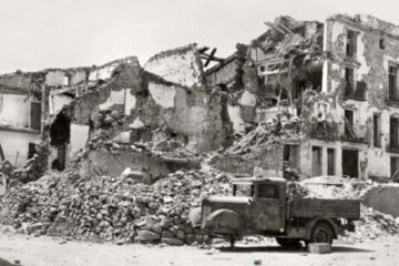 Benassal bombardeada