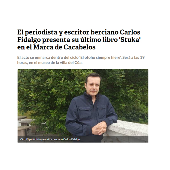 presentacion stuka cacabelos Carlos Fidalgo
