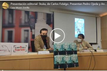 presentación Stuka de Carlos Fidalgo casa Zorrilla Valladolid