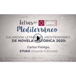 STUKA, de CARLOS FIDALGO. PREMIO LETRAS DEL MEDITERRÁNEO